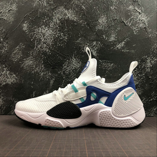 Wholesale Cheap 2019 Cheap Nike Huarache EDGE TXT White Hyper Jade-Game Royal-Black AO1697-102