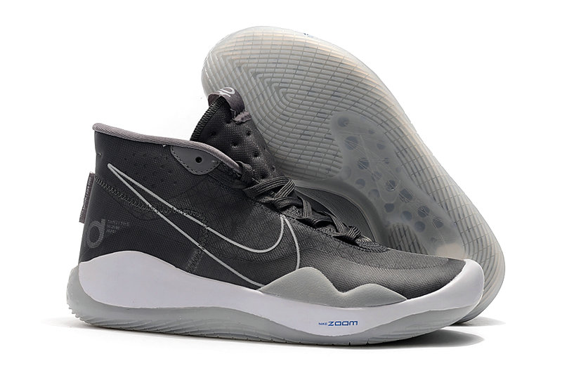 Wholesale Cheap 2019 Cheap Nike KD 12 The Day One AR4229-001 Black Pure Platinum-White