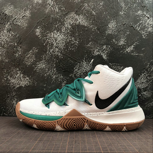 Wholesale Cheap 2019 Cheap Nike Kyrie 5 Black white brown dark green ink AO2919-100