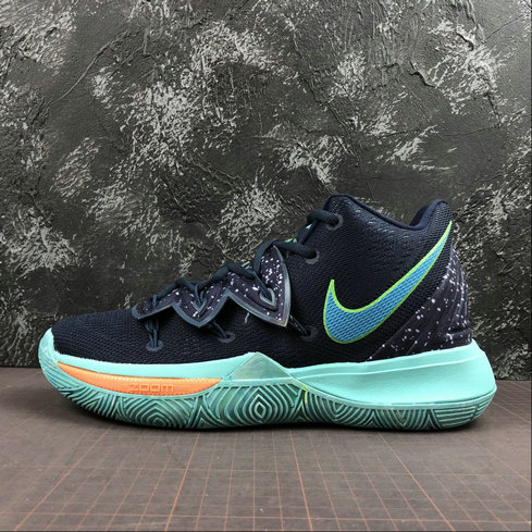 Wholesale Cheap 2019 Cheap Nike Kyrie 5 EP UFO Obsidian Blue Mens Basketball Shoes Kyrie Irving AO2919- 400