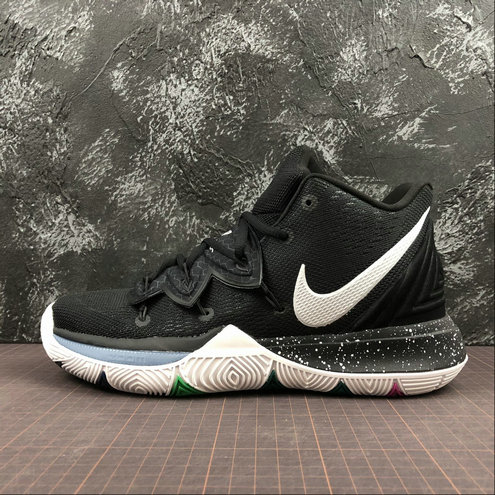 Wholesale Cheap 2019 Cheap Nike Kyrie 5 EP V Irving Black Magic Basketball AO2919-901
