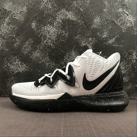 Wholesale Cheap 2019 Cheap Nike Kyrie 5 EP V Irving Oreo Cookies White Black AO2919-100