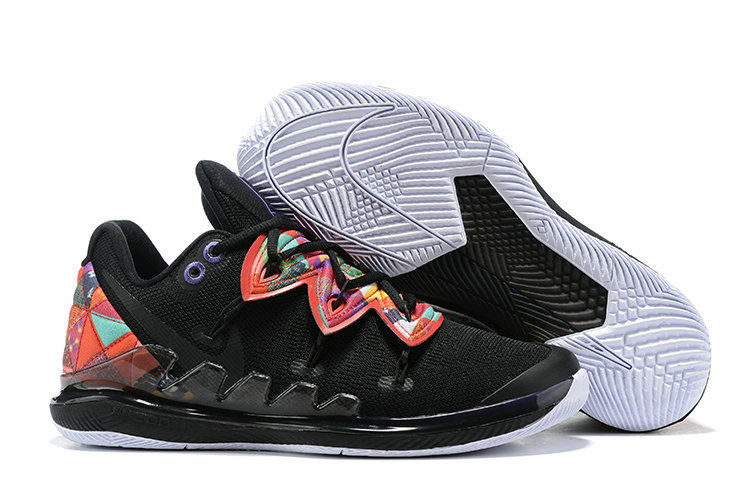 Wholesale Cheap 2019 Cheap Nike Kyrie 5 V Irving CNY Chinese New Year Black Multi AO2919-010