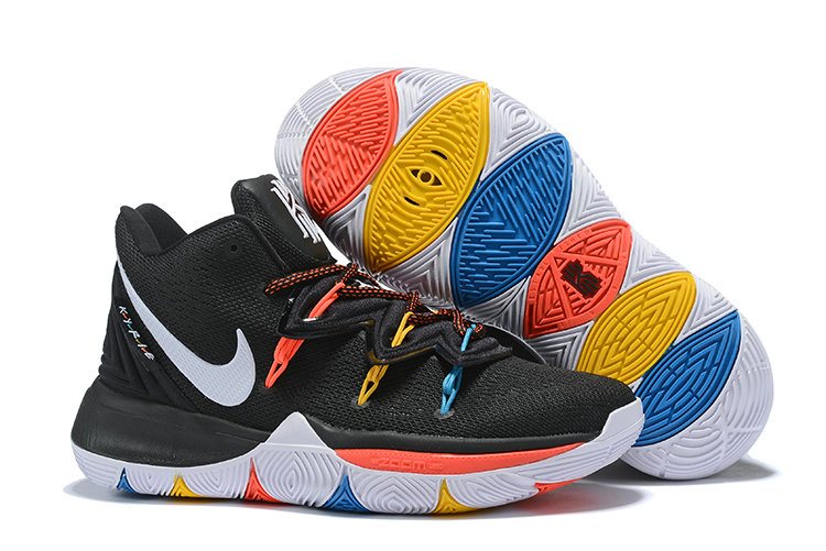 Wholesale Cheap 2019 Cheap Nike Kyrie Irving 5 V Colorful White Black Orange