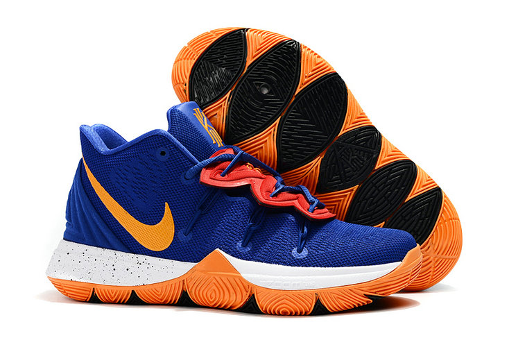 Wholesale Cheap 2019 Cheap Nike Kyrie Irving 5 V Team Orange Blue White Yellow