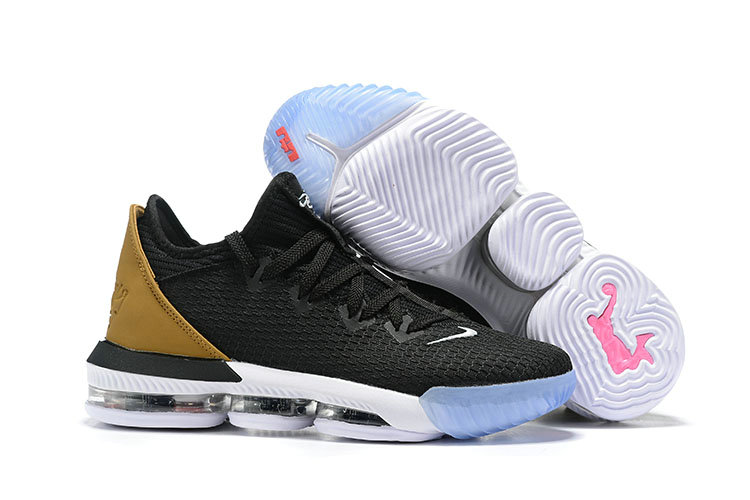 Wholesale Cheap 2019 Cheap Nike LeBron 16 Low Soundtrack Black Multicolor-White CI2668-001