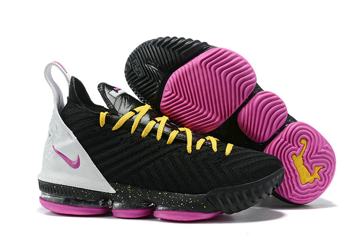 Wholesale Cheap 2019 Cheap Nike Lebron 16 Im King Black Pink White Yellow