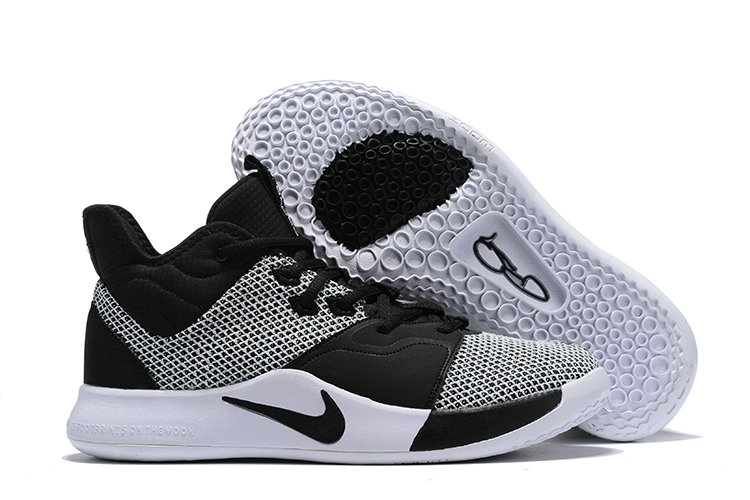 Wholesale Cheap 2019 Cheap Nike PG 3 EP Paul George Black White AO2608-002