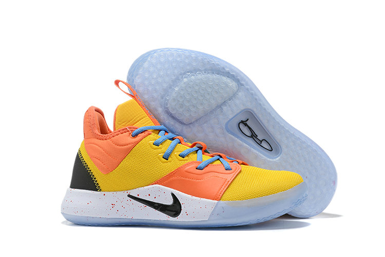 Wholesale Cheap 2019 Cheap Nike PG 3 NASA Ci8973-800 Colorway Total Orange Black-Metallic Silver