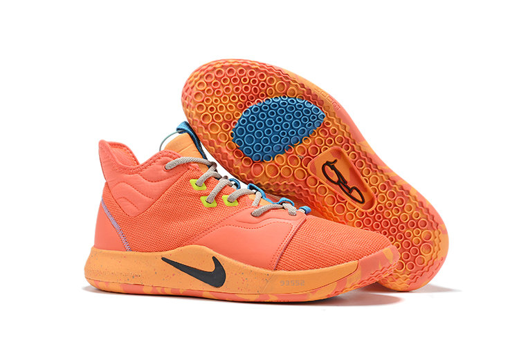 Wholesale Cheap 2019 Cheap Nike PG 3 Orange Red Black Yellow