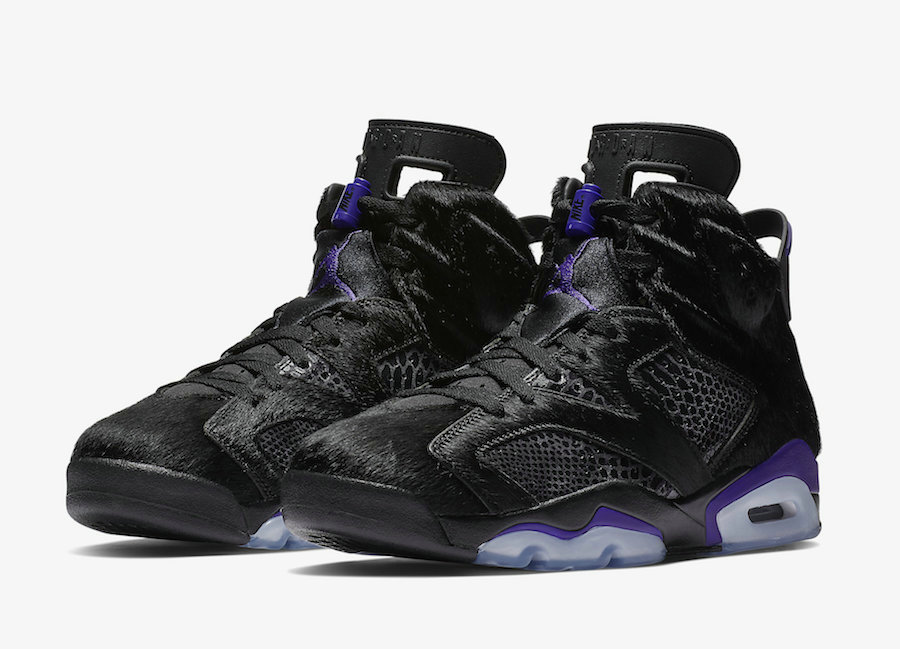 Wholesale 2019 Cheap Nike Social Status x Air Jordan 6 AR2257-005 Black Dark Concord