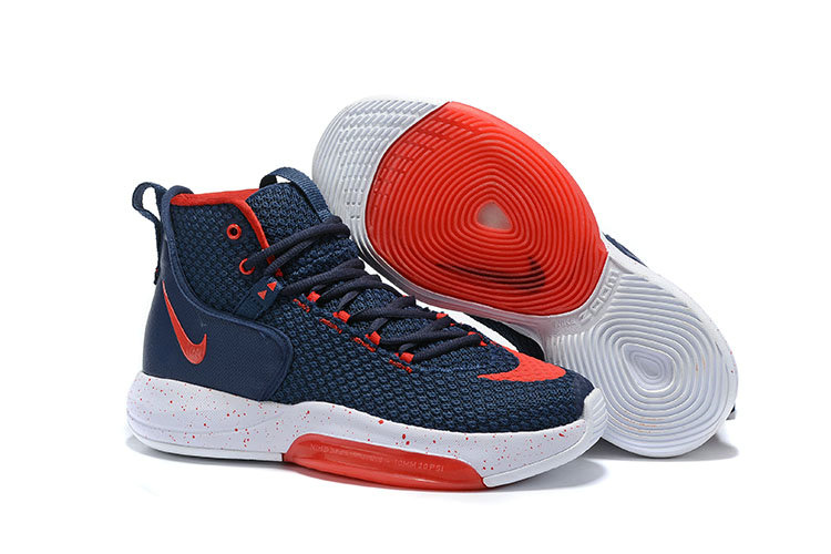 Wholesale Cheap 2019 Cheap Nike Zoom Rise Navy Blue Red White