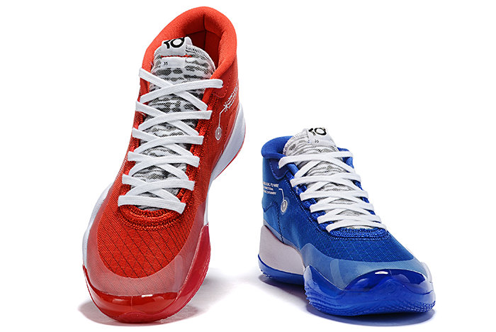 Where To Buy 2019 Nike KD 12 Team Bank Game Royal and University Red For Sale