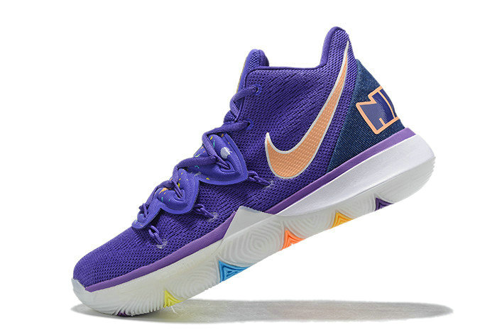 Where To Buy 2019 Nike Kyrie 5 Have A Nike Day Glacier Blue Purple Gold White