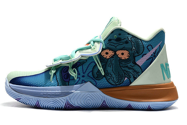 Where To Buy 2019 Nike Kyrie 5 SpongeBob Green Multi-Color For Sale