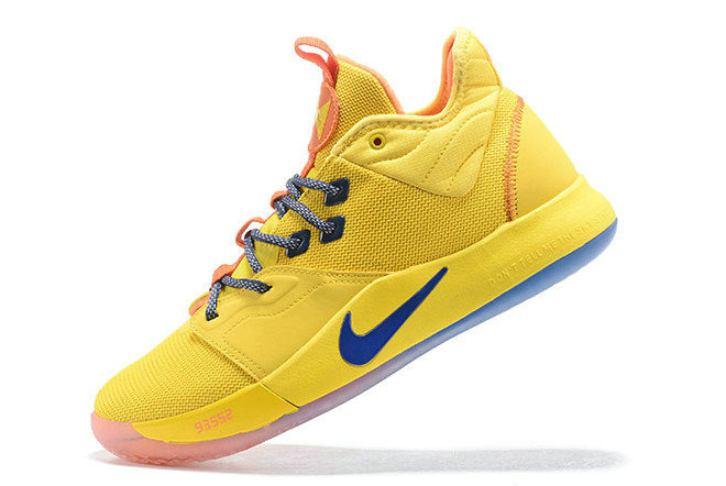 Where To Buy 2019 Nike PG 3 Bruce Lee Tour Yellow Orange-Blue For Sale