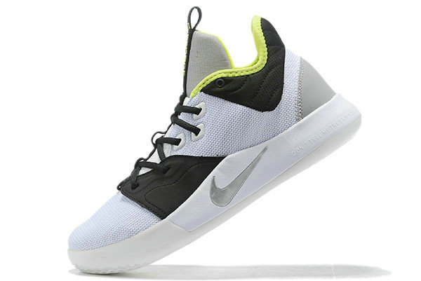 Where To Buy 2019 Nike PG 3 Los Angeles Lakers White Black-Green For Sale