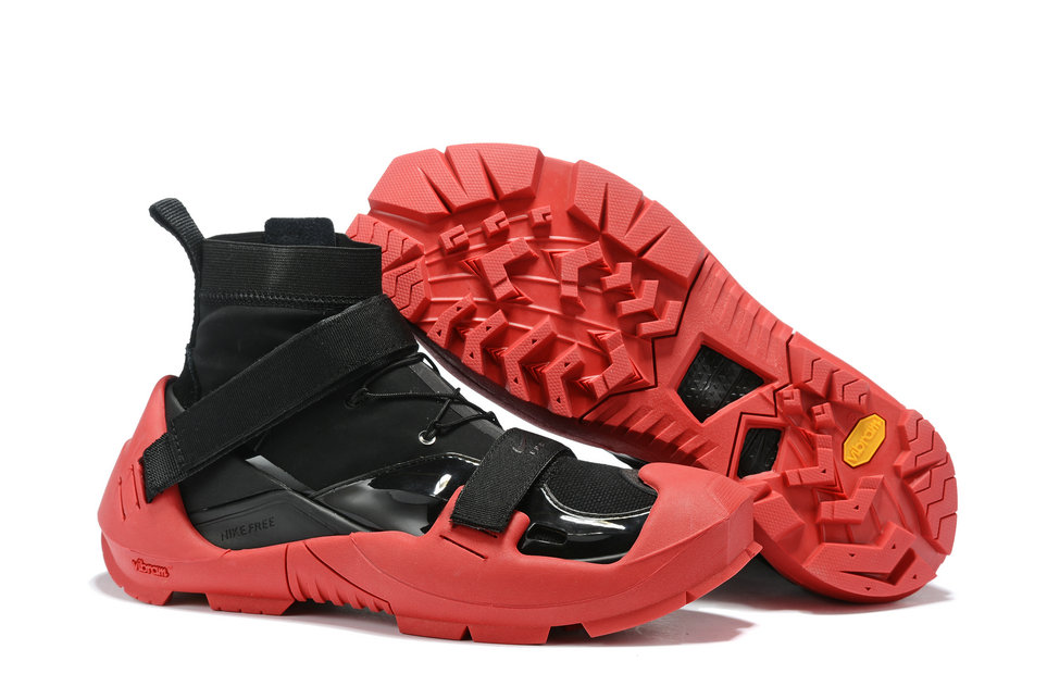 2019 Where To Buy Wholesale Cheap NIKE X MMW FREE TRAINER 3 SP BLACK UNIVERSITY RED