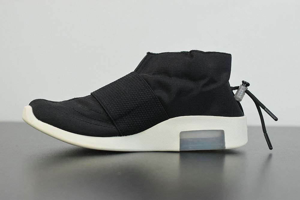 2019 Where To Buy Wholesale Cheap Nike Air Fear Of God Mid Black White AR8008-201