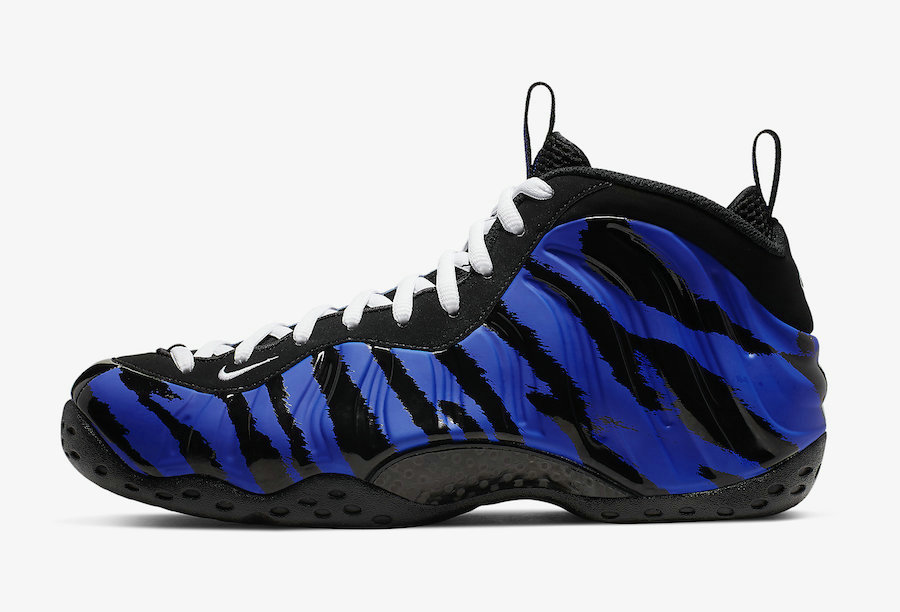2019 Where To Buy Wholesale Cheap Nike Air Foamposite One Memphis Tigers Stripes BV8161-400