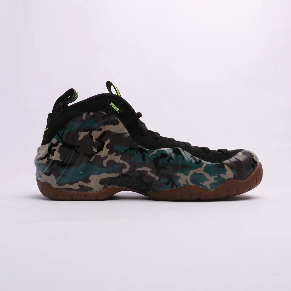 2019 Where To Buy Wholesale Cheap Nike Air Foamposite Pro Premium LE Army Camo