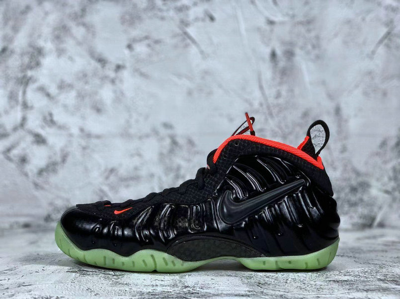 2019 Where To Buy Wholesale Cheap Nike Air Foamposite Pro Solar Red Yeezy-Black-Black-Laser Crimson
