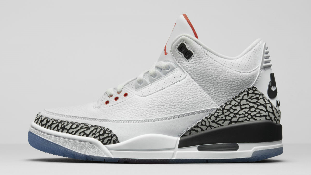 2019 Where To Buy Wholesale Cheap Nike Air Jordan 3 All-Star Dunk Series White Cement 923096-101