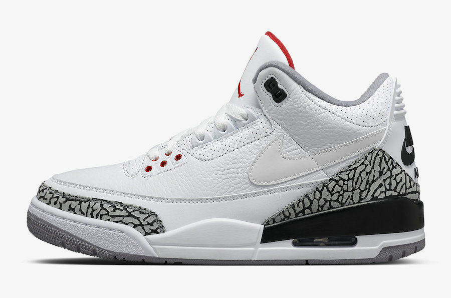 2019 Where To Buy Wholesale Cheap Nike Air Jordan 3 JTH Tinker White Cement AV6683-160