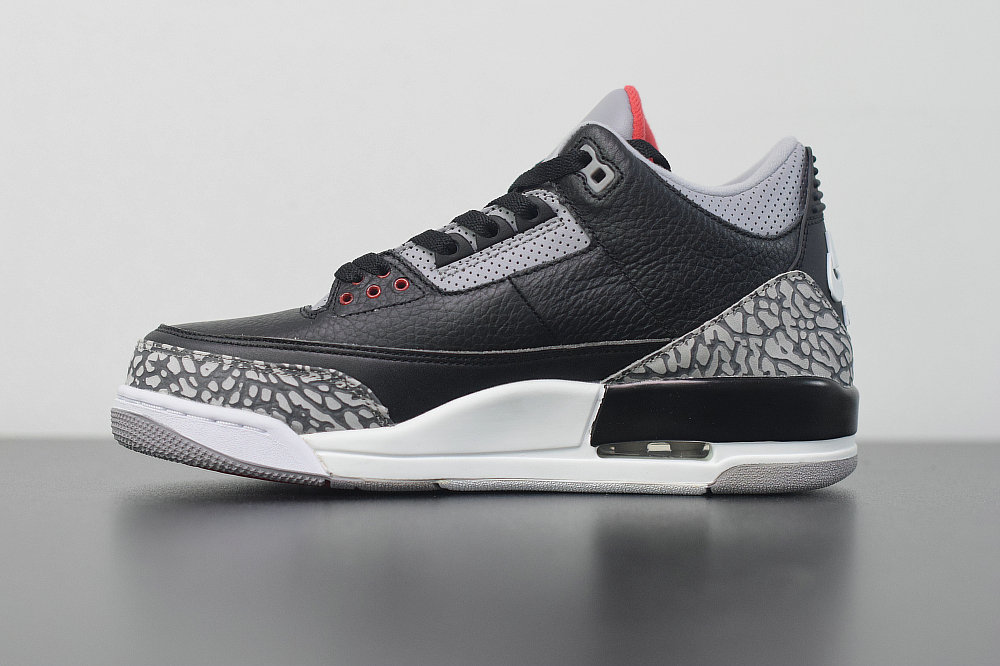 2019 Where To Buy Wholesale Cheap Nike Air Jordan 3 Retro Og Black Cement 2018 854262-001