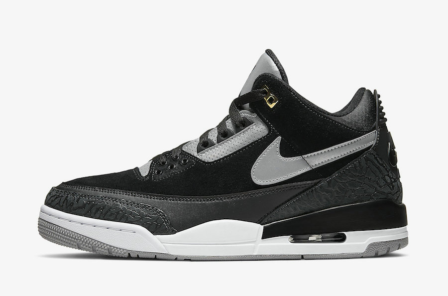 2019 Where To Buy Wholesale Cheap Nike Air Jordan 3 Tinker Black Cement Grey CK4348-007