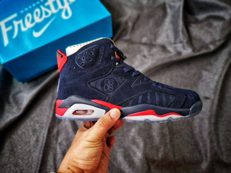 2019 Where To Buy Wholesale Cheap Nike Air Jordan 6 DB Doernbecher Midnight Navy CI6293-416
