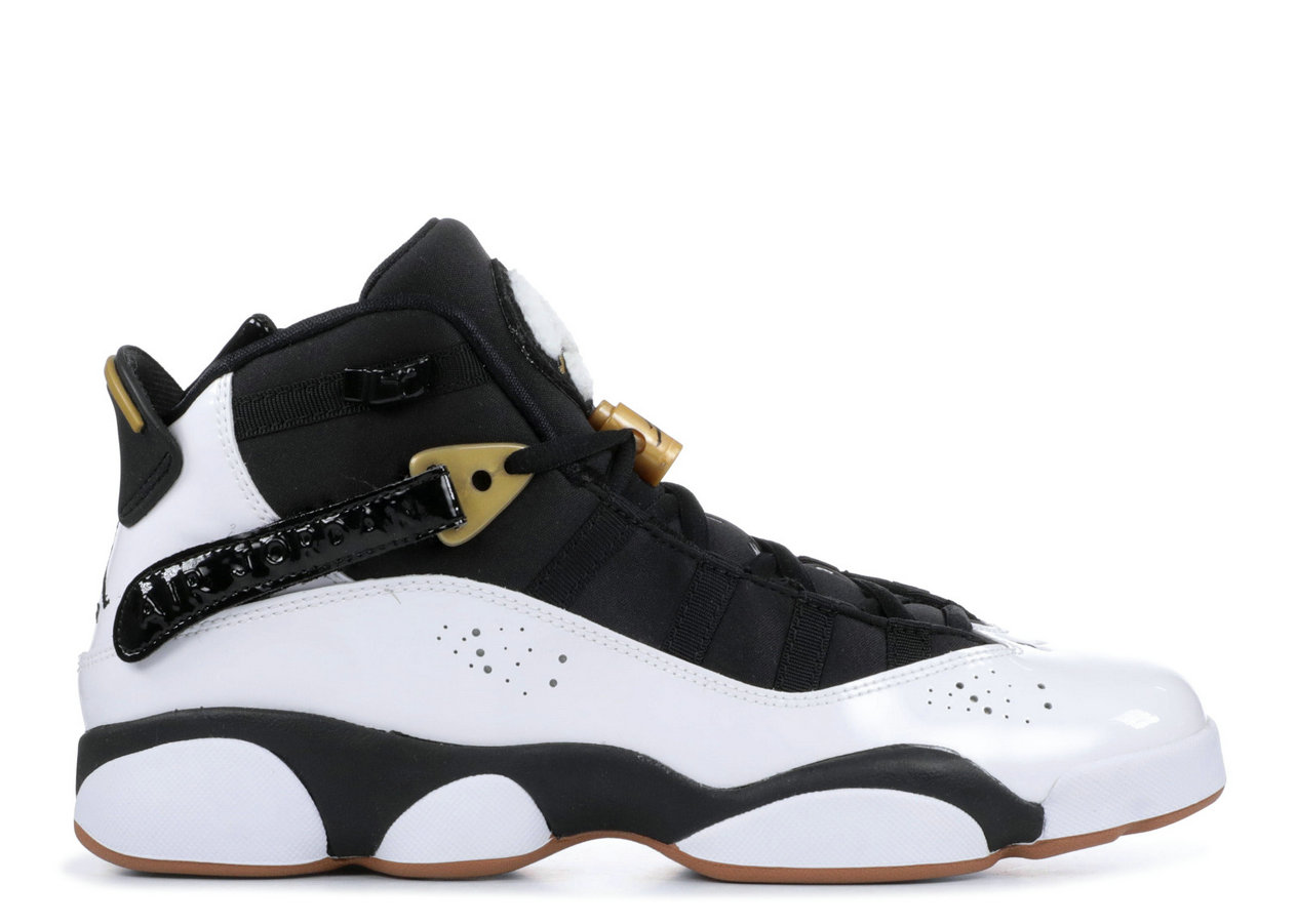 2019 Where To Buy Wholesale Cheap Nike Air Jordan 6 Rings White Black-Metallic Gold-Gum 323399-100