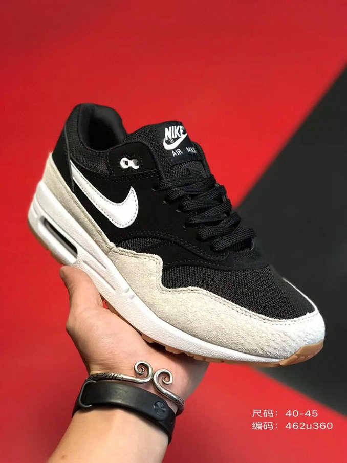 2019 Where To Buy Wholesale Cheap Nike Air Max 1 87 Black Rose Gold White