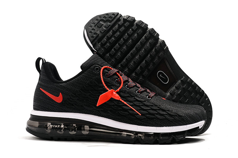 2019 Where To Buy Wholesale Cheap Nike Air Max 2017 Black Red White