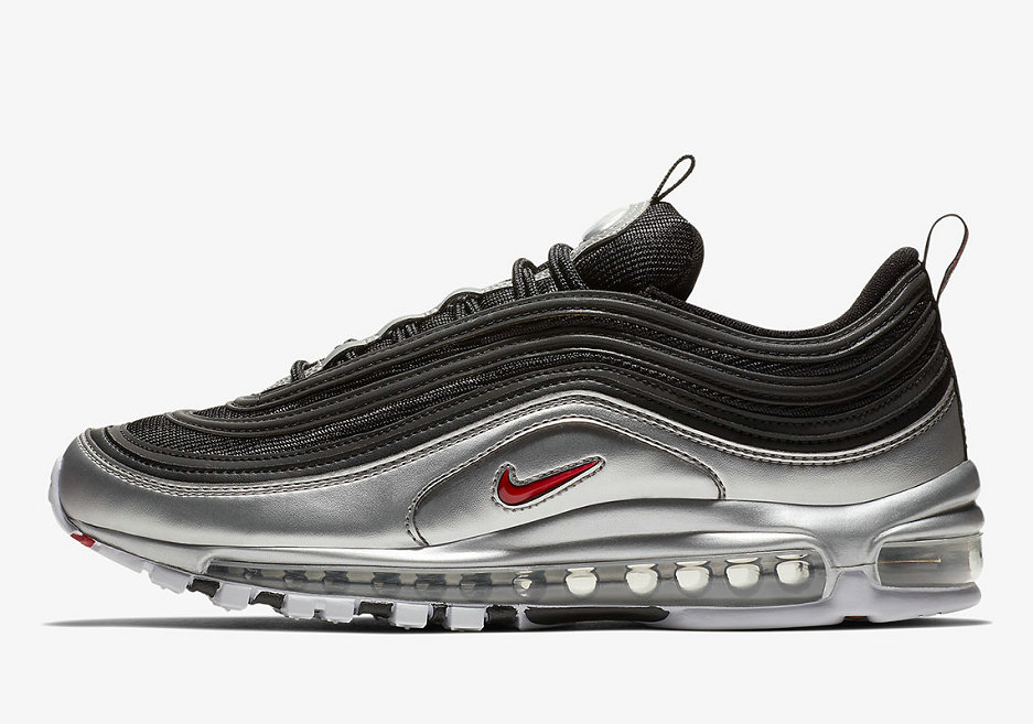 2019 Where To Buy Wholesale Cheap Nike Air Max 97 Black Silver AT5458-001
