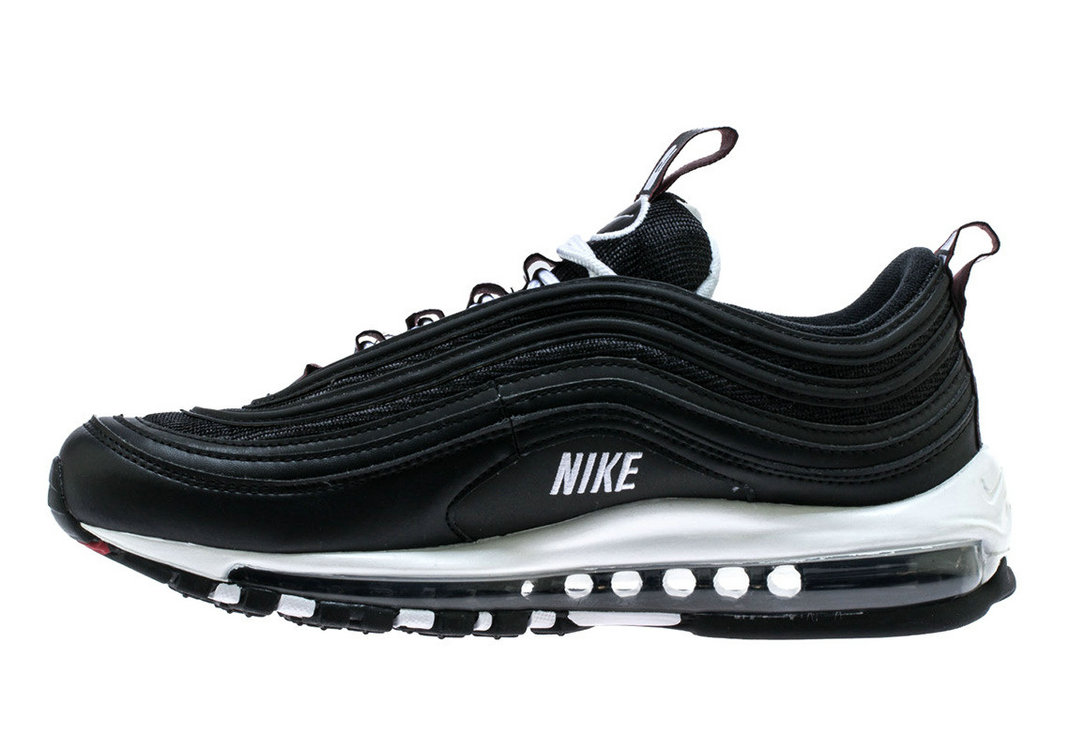 2019 Where To Buy Wholesale Cheap Nike Air Max 97 Black White-Varsity Red 312834-008