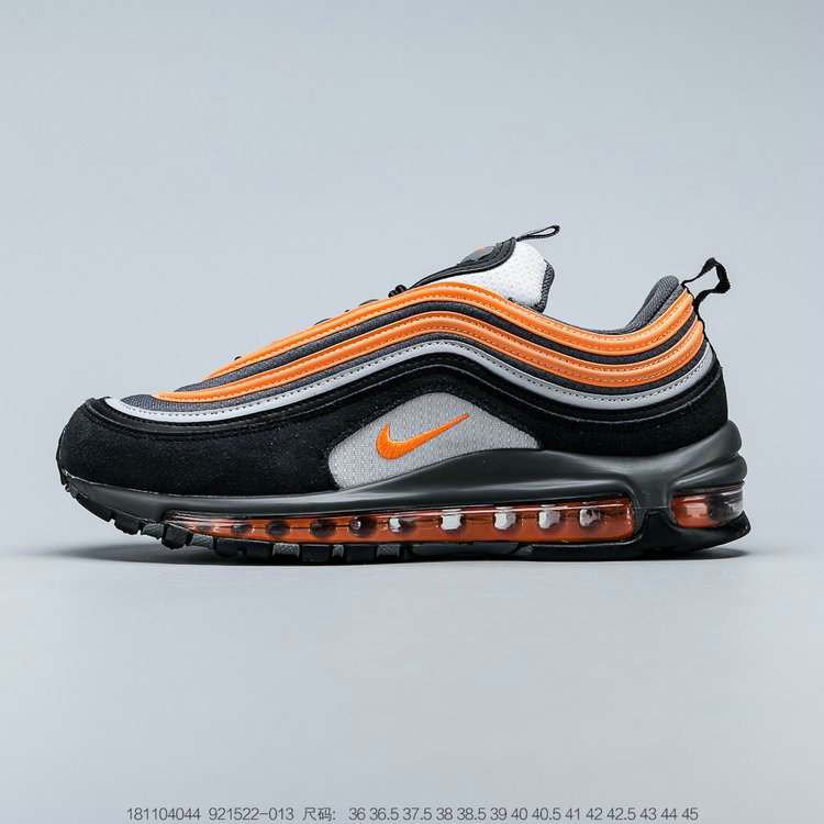 2019 Where To Buy Wholesale Cheap Nike Air Max 97 Have A Nike Day Wolf Grey Total Orange Black Gris Loup Noir 921522-013