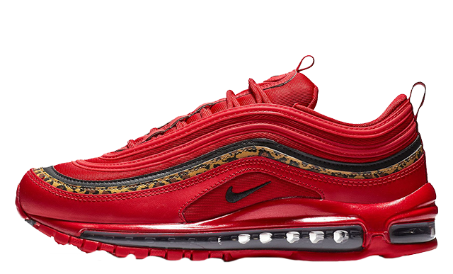 2019 Where To Buy Wholesale Cheap Nike Air Max 97 Red Leopard BV6113-600