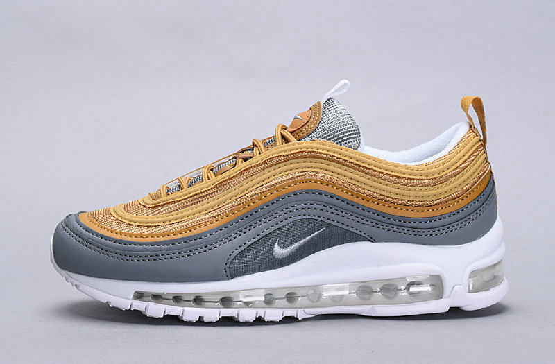 2019 Where To Buy Wholesale Cheap Nike Air Max 97 SE Metallic Gold Metallic Gold AQ4137-700