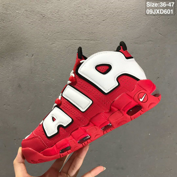 2019 Where To Buy Wholesale Cheap Nike Air More Uptempo University Red CD9402-600