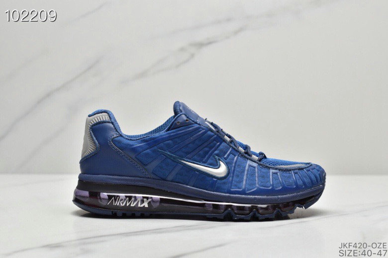 2019 Where To Buy Wholesale Cheap Nike Air VaporMax Plus Blue Silver Grey