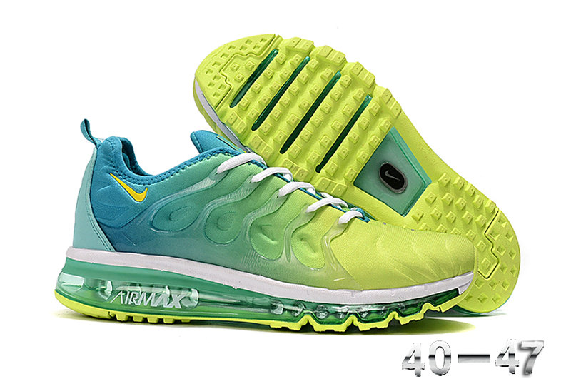 2019 Where To Buy Wholesale Cheap Nike Air VaporMax Plus Running Jade Green Fluorescent Green White