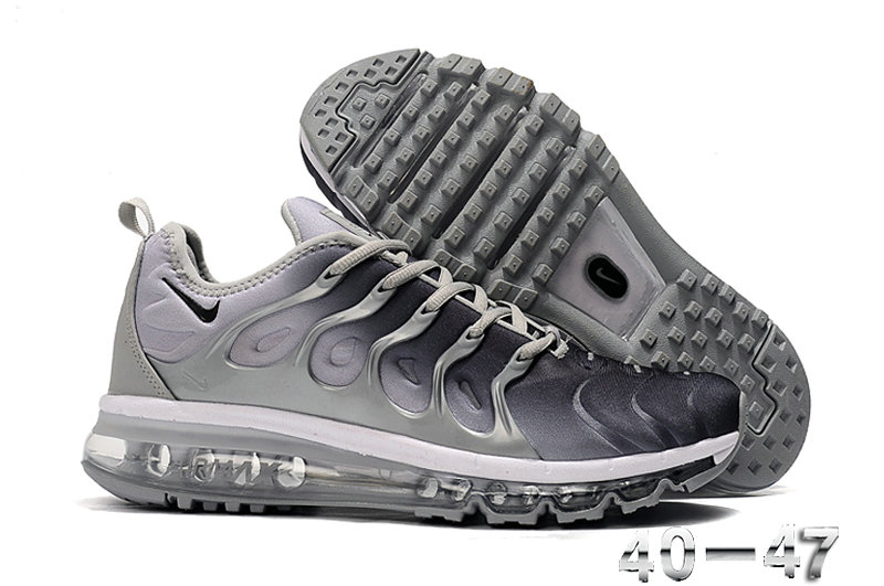 2019 Where To Buy Wholesale Cheap Nike Air VaporMax Plus Running Silver Grey