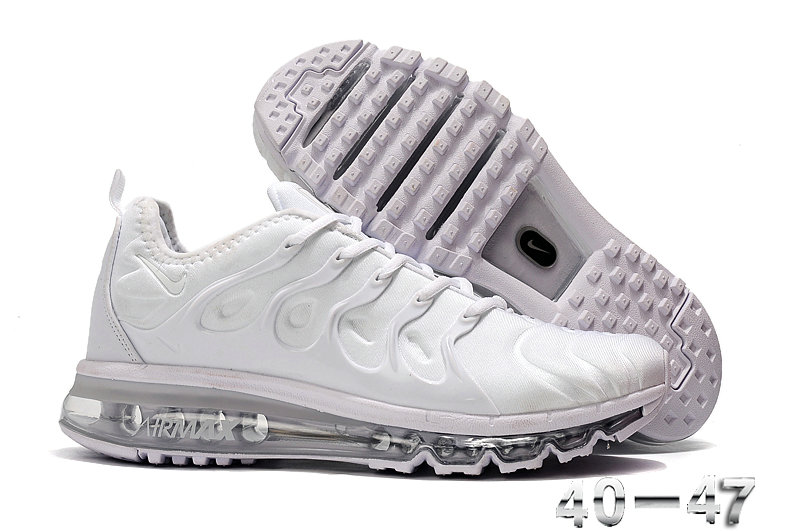 2019 Where To Buy Wholesale Cheap Nike Air VaporMax Plus Running Triple White