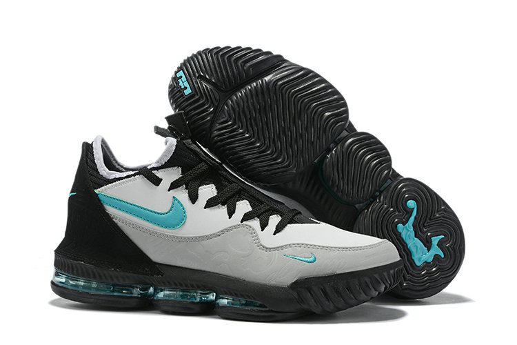 2019 Where To Buy Wholesale Cheap Nike Atmos x LeBron 16 Low Clear Jade Black Wolf Grey