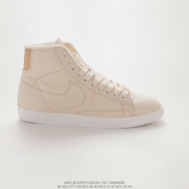 2019 Where To Buy Wholesale Cheap Nike Blazer Mid PRM VNTG Pale Ivory Ivoire CD8233-102