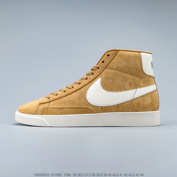 2019 Where To Buy Wholesale Cheap Nike Blazer Mid VNTG Suede Vintage Wheat Brown Cream 917862-700