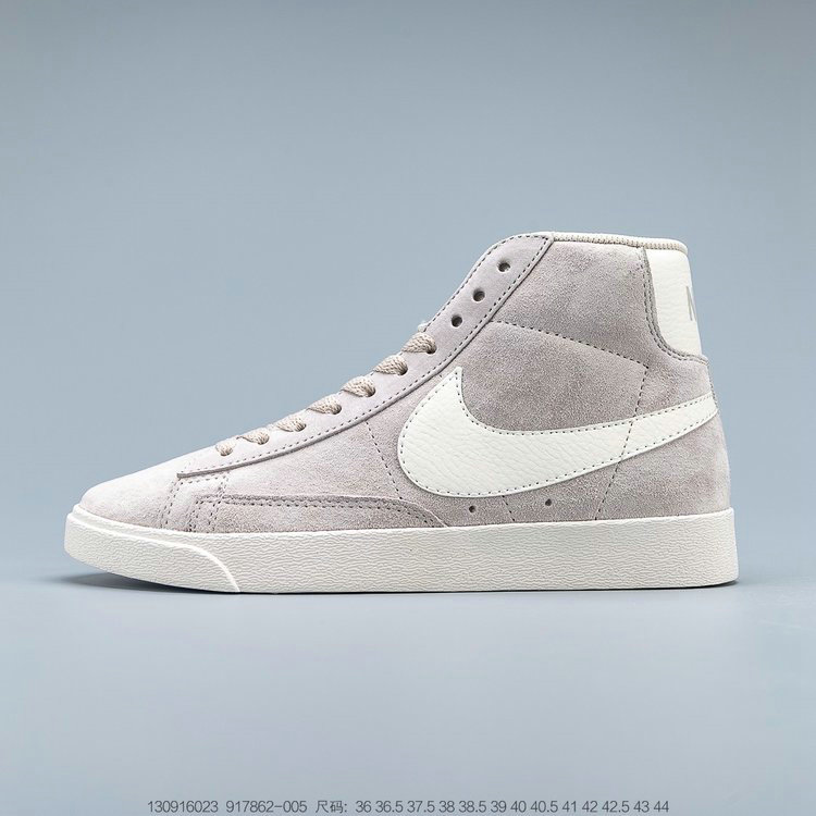 2019 Where To Buy Wholesale Cheap Nike Blazer Mid Vintage Suede Sneakers Desert Sand Sail 917862-005