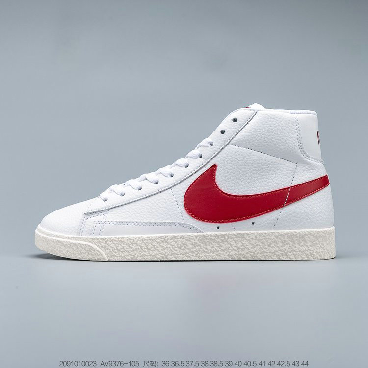 2019 Where To Buy Wholesale Cheap Nike Blazer Mid Vintage Suede White Gym Red-Sail AV9376-105