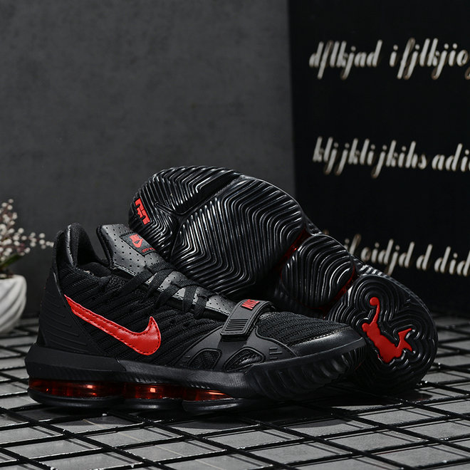 2019 Where To Buy Wholesale Cheap Nike LeBron 16 Gym Red Black